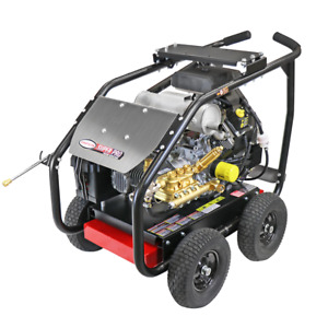 Simpson SPW7040KCGLRC 7000 PSI (Gas-Cold Water) Gear-Drive Large Roll Cage Pr...