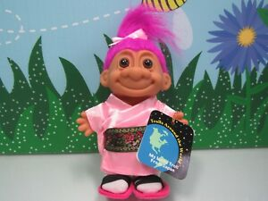 AROUND THE WORLD JAPAN 5 Russ Troll Doll NEW IN ORIGINAL WRAPPER $18.95