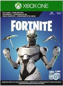 Fortnite Xbox One Econ Cosmetic Set Skin+2000 V-Bucks! Fast Delivery!