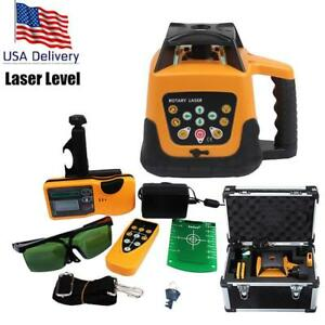 Automatic Self-leveling Construction Rotary Laser Level Green...