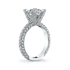 Designer Gregorio Beautiful 1.20ctw Diamond Semi Mount G VS Platinum 950