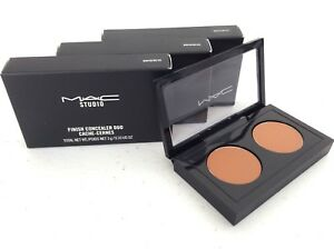 QtySet of 3 MAC Studio Finish Concealer Duo NW40NC45 *Full Size *NEW IN BOX