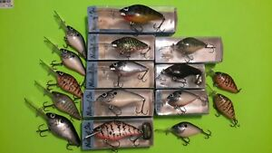 16 Lazy Ike Natural Ike Fishing Lure Collection