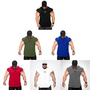 Men'S Dry Fit Workout Fitness Tank Tops Custom Baseball Gym Sport Clothes Vests