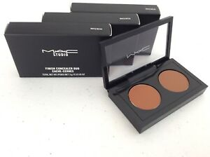 QtySet of 3 MAC Studio Finish Concealer Duo NW45NC50 *Full Size *NEW IN BOX