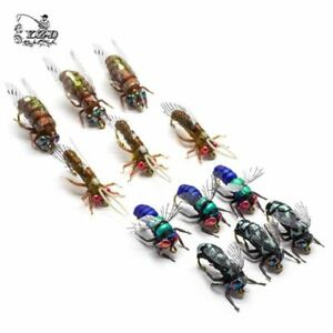 Hot Dry Fly Fishing Flies Set Fly Tying Kit Lure for Rainbow Trout Flies 8# 10#