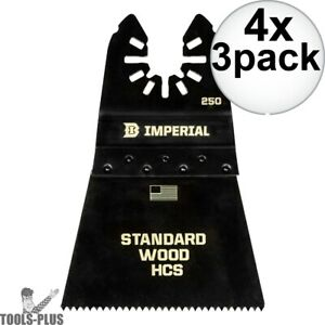Imperial Blades IBOA250-3 3pk ONE FIT 2-12