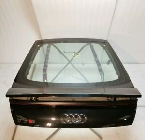 2016 16 AUDI TTS MK3 TAILGATE TRUNK LID WITH SPOILER GLASS TRIM *COMPLETE* OEM