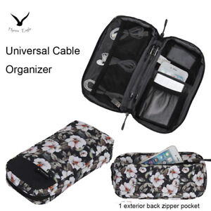 Cute Small Universal Cable Organizer Travel Bag Electronic Case Accessories Bag