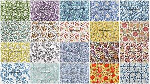 200 Meter Wholesale Lot Indian Hand Block Print Cotton Dress Sewing Craft Fabric
