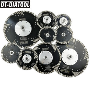 1pc Hot pressed Slant protection teeth Diamond turbo Blade Cutting Disc 4quot; 9quot; $16.97