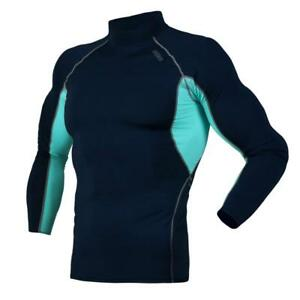 DRSKIN UV Sun Protection Long Sleeve Top Shirts Skins Tee Compression Base Layer