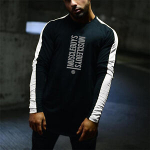 Men's Cheap Custom Fit Printing Joint Long Sleeve Compression Quick Dry Shirts