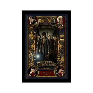 FANTASTIC BEASTS CRIMES OF GRINDLEWALD - 11x17 Framed Movie Poster by Wallspace