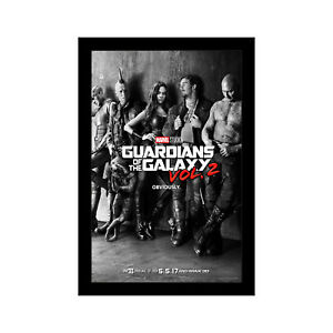 GUARDIANS OF THE GALAXY VOL 2 - 11x17 Framed Movie Poster by Wallspace