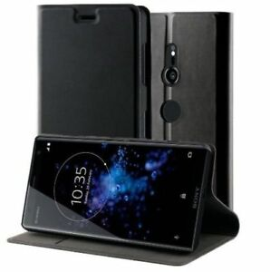 Roxfit Sony Xperia XZ3 Slim Standing Book Case - Black