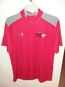 Jim McKay Md Million 2018 Under Armour XL short sleeve shirt and matching hat.