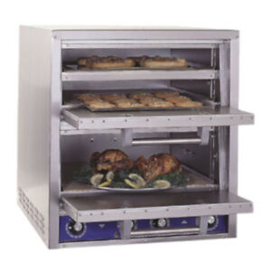 Bakers Pride P46S Electric Countertop Bake and Roast  Pizza Oven