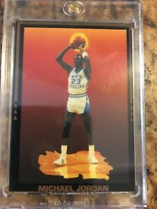 Michael Jeffery Jordan very RARE collegiate basketball season record card.