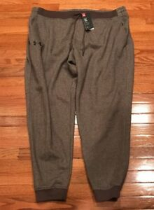 Under Armour Rival Fleece Patterned Joggers Mens Pants 1280760-240 4XLT 4XL Tall