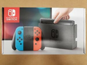 Nintendo Switch 32Gb Console Neon Blue and Neon Red Joy-Con ***FREE SHIPPING***