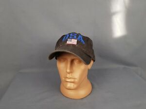 Vintage Polo Sport Ralph Lauren Cap Stadium PWing 67 Spell Out Mens One Size