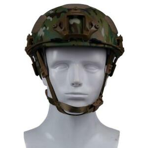 2 in 1 Military Sport Tactical Helmet Airsoft Gear Paintball With Camera Mount