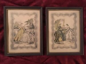 "Antique 9x7"" Lithographs. Beautiful Antiques Check Pictures 19th Century. $15.00"
