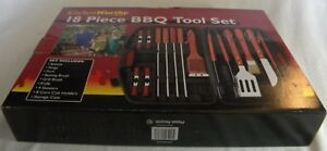 Kitchen Worthy 18 Piece BBQ Tool Set (opened but brand new)