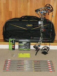 Loaded Right Hand Mathews Halon 32 6 Bow Package-Under Armour RR Barren-Halon 6