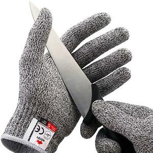 Cut Resistant Gloves for Cutting Working with Mandoline Slicer Carving Carpentry
