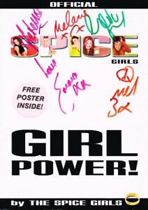 The Spice Girls SIGNED Book Geri Emma Mel B Victoria Mel C COA