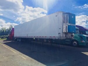 2000 WABASH HICUBE REEFER TRAILERVAN 53 Ft Thermo King Whisper