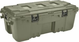 Plano Tactical Storage Box Guns Ammo Camo Green Military Weapons Trunk Crate New