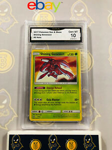 Shining Genesect 973 - 10 GEM MINT GMA Graded Rare Holo Pokemon Card