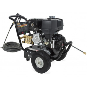 Mi-T-M Professional 4000 PSI (Gas-Cold Water) Pressure Washer w Honda GX390 ...