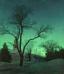 Maxfield Parrish Untitled Giclee Art Paper Print Paintings Poster Reproduction