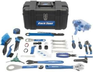 Park Tool AK-3 Advanced Bicycle Mechanic 40+ Piece Tool Kit with Tool Box  Case