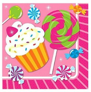 Napkins - Sweet Shop - Large - Paper - 2Ply - 16ct - 13 X 13 in
