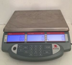 Ohaus EC Scale Model EC6 Max Weight 6000 Grams