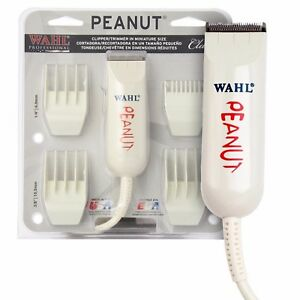 WAHL PEANUT Clipper  Trimmer- CLASSIC WHITE 8685 Model NEW SEALED USA SELLER