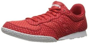 Saucony Originals Women's Bullet DOTS-W Fashion Sneakers Red