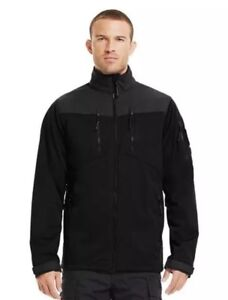 Under Armour XL Storm Tactical Gale Force Jacket Mens Loose Fit 1236639 Black