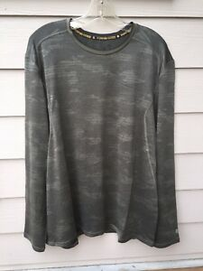 NWT Mens Champion Duo Dry Power Core Cool Compression Shirt - XL - Camo Fitted