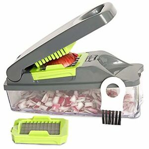 Onion Chopper Pro Vegetable Chopper by Mueller - Strongest - NO MORE TEARS