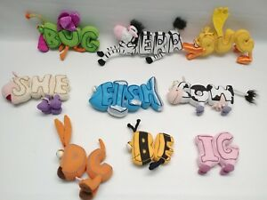 PBS Kids WordWorld Magnetic Pull Apart Replacement Letters.