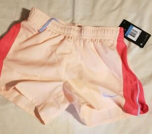 *NEW* Girls' Youth Nike Dri-Fit Pink Athletic Running wind Shorts size Youth M