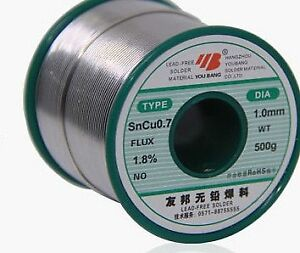 1.0mm 500g lead free tin solder wire low melting point soldering wire