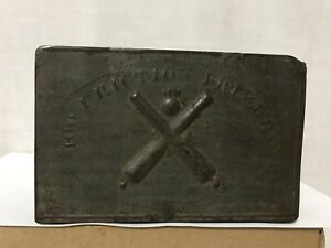 Rare Civil War US Artillery Friction Primer Tin Box Frankford Arsenal