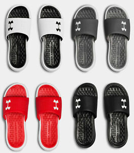 Under Armour Men's UA Playmaker Fixed Strap Slides Sandals Many Sizes